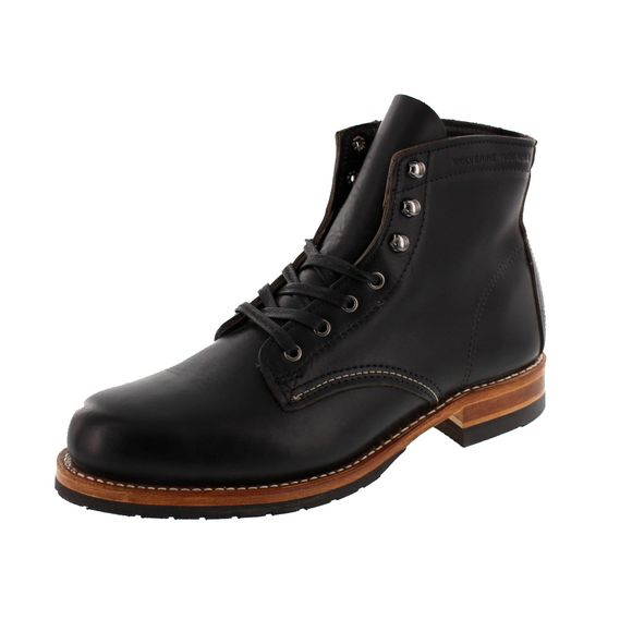 WOLVERINE 1000 MILE Men - Boots EVANS - black