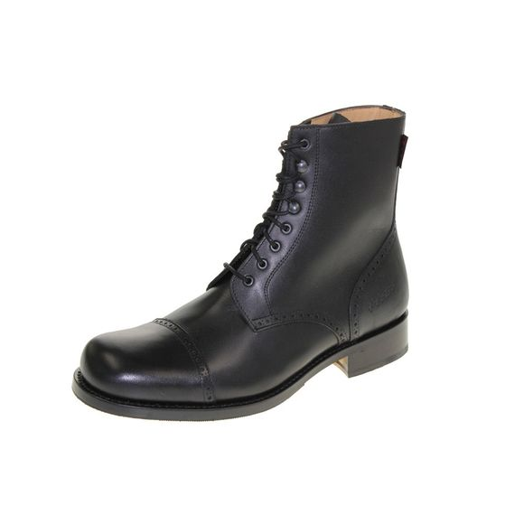 HOBO Herrenschuhe - Boots DERBY COMMANDER LR - black