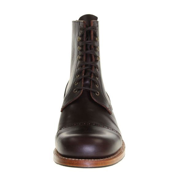 HOBO Herren - Boots DERBY COMMANDER LR - dark brown - Thumb 3