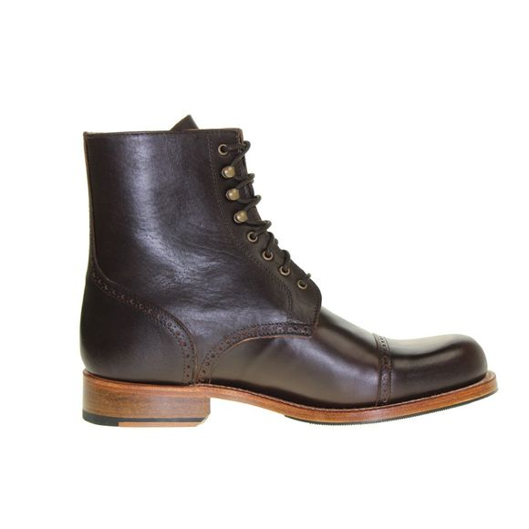 HOBO Herren - Boots DERBY COMMANDER LR - dark brown - Thumb 4