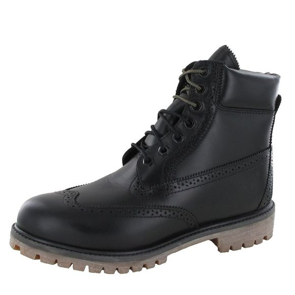 TIMBERLAND Schuhe - 6 INCH WP BROGUE BOOT A12ZK - black