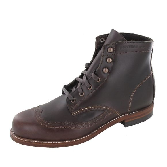 WOLVERINE 1000 MILE Men - Boots ADDISON BOOT - brown