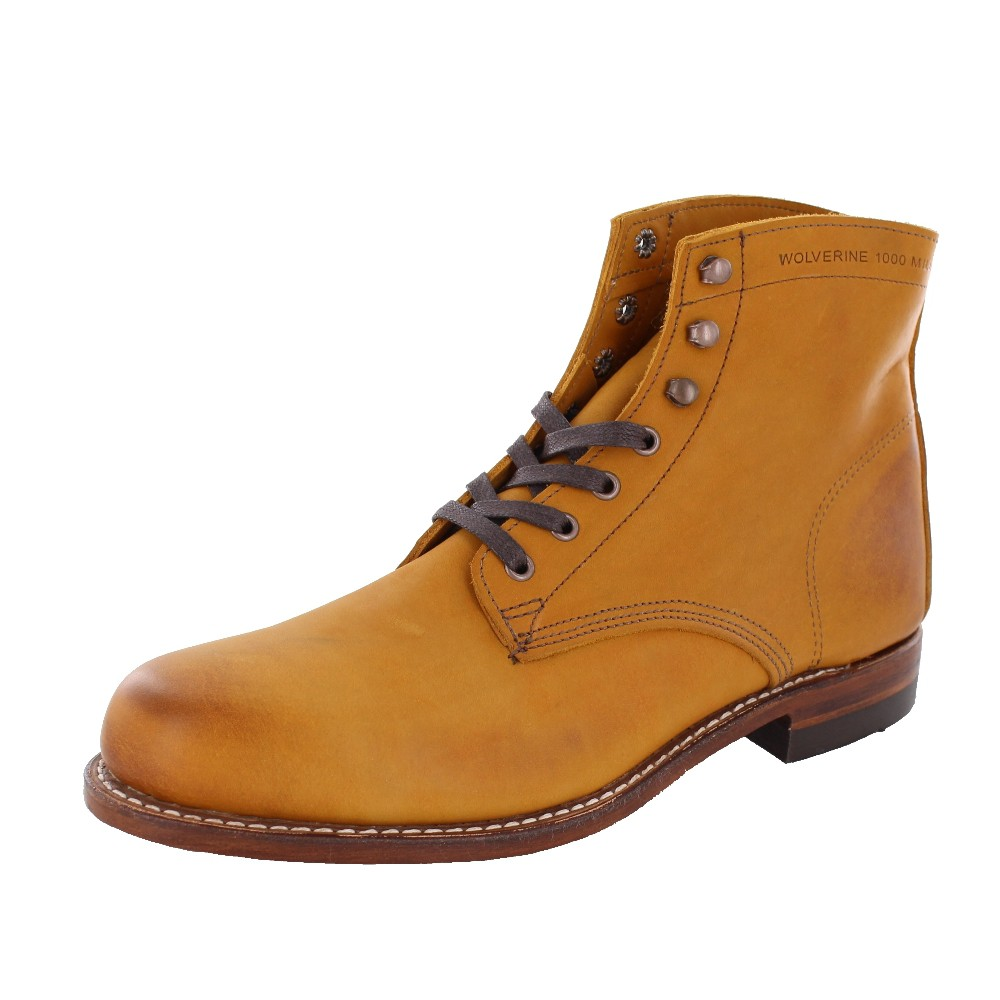 WOLVERINE 1000 MILE Men - Boots 1000 MILE - tan