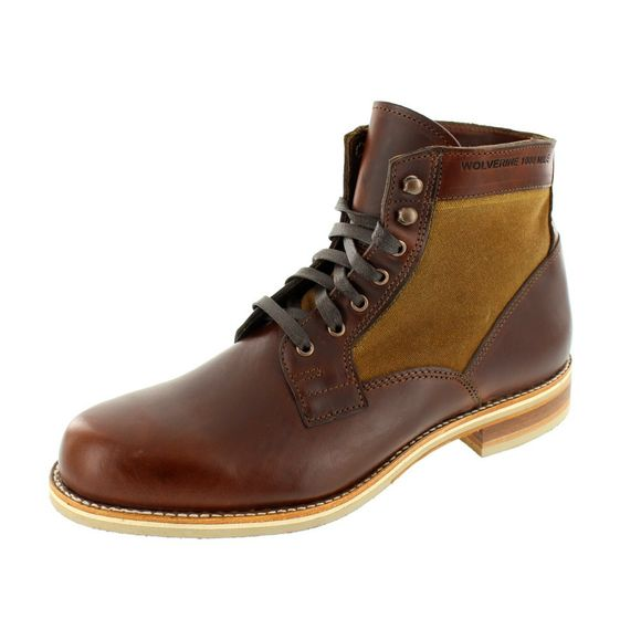 WOLVERINE 1000 MILE Men - Boots WHITEPINE - brown