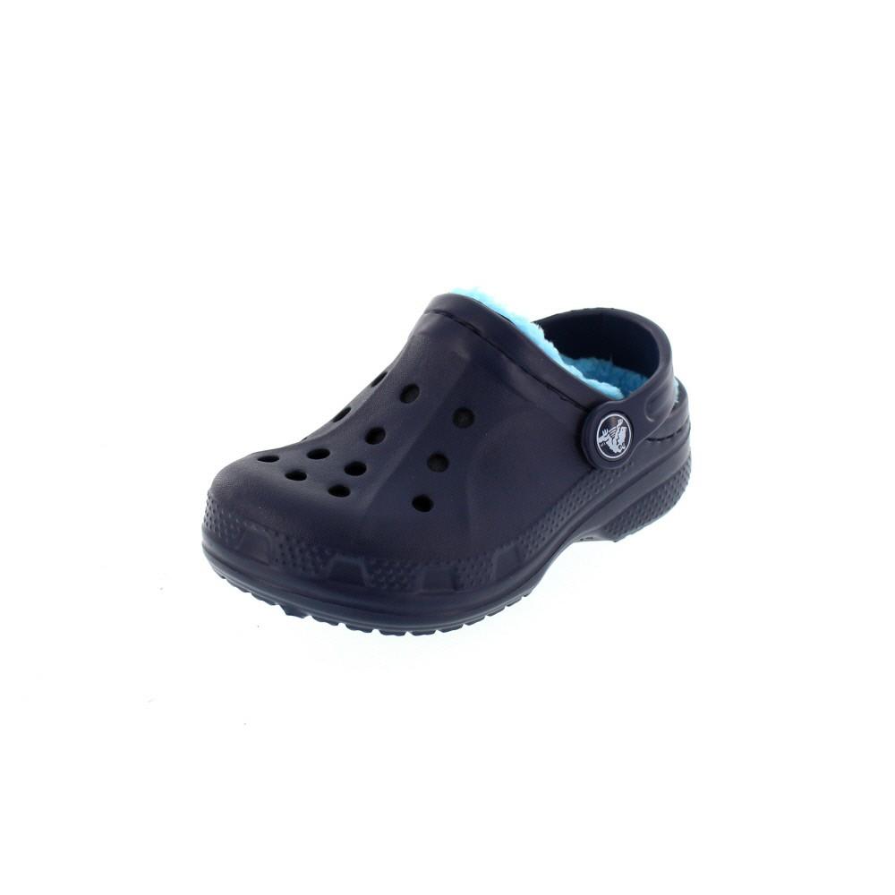 CROCS Kinderschuhe - WINTER CLOG - navy electric blue