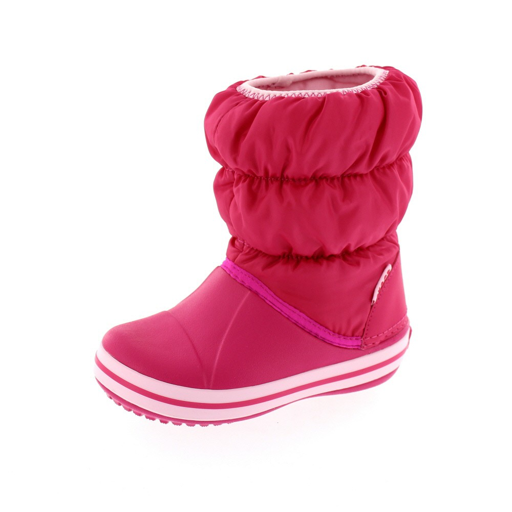 CROCS Kinder - WINTER PUFF Boot - candy pink