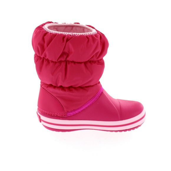 CROCS Kinder - WINTER PUFF Boot - candy pink - Thumb 3