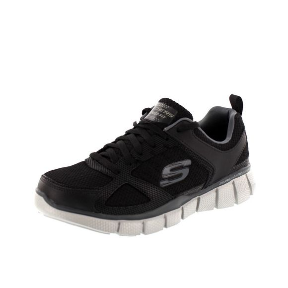 SKECHERS EQUALIZER 2.0 ON TRACK 51532 - black charcoal - Thumb 1