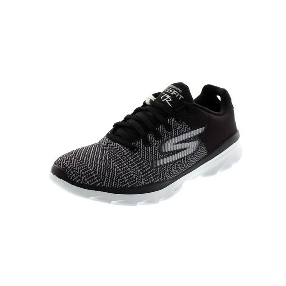 SKECHERS Damenschuhe - GO FIT TREK 14087 - black white - Thumb 1