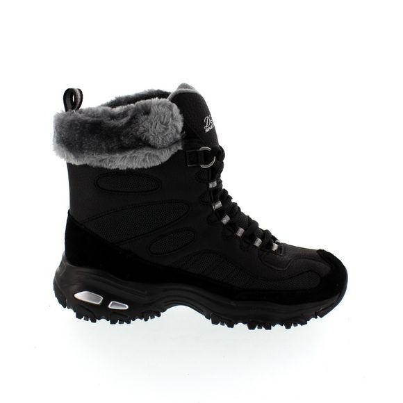 SKECHERS Damenschuhe - Boots D´LITE CHALET 48816 - black - Thumb 3