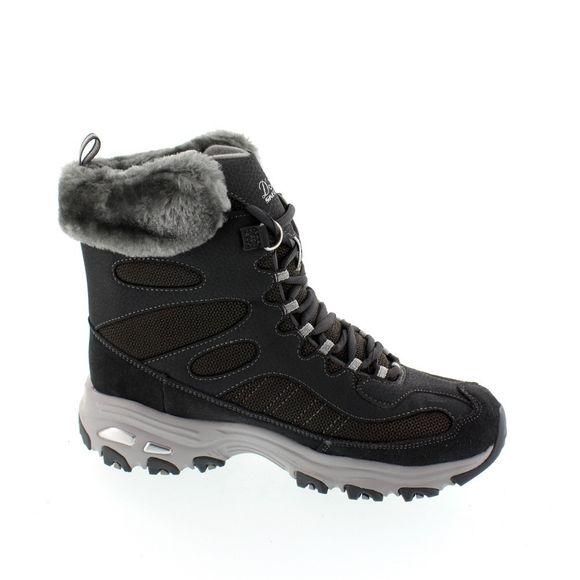 SKECHERS Damen - Boots D´LITE CHALET 48816 - charcoal - Thumb 3