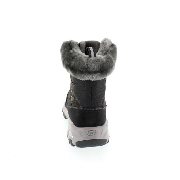 SKECHERS Damen - Boots D´LITE CHALET 48816 - charcoal - Thumb 4