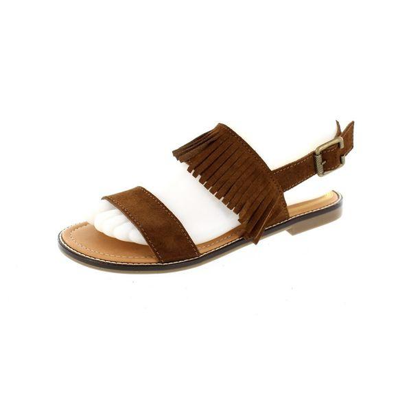 LEVI´S Damen - Sandalen COTATI FRINGE 225846-709 - brown - Thumb 1