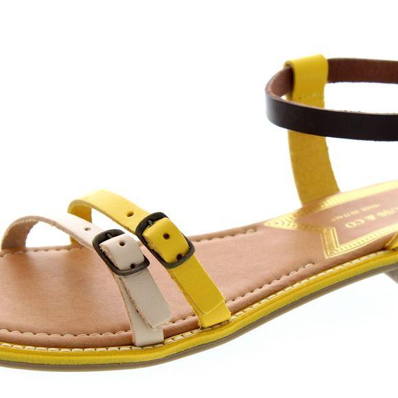 LEVI´S Damen - Sandalen COTATI 225842-700 - yellow - Thumb 6