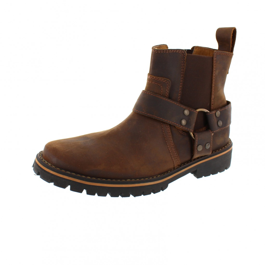 harley davidson men boots duran d93360 brown ebay. Black Bedroom Furniture Sets. Home Design Ideas
