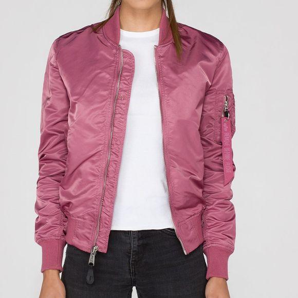 ALPHA Industries - Damen MA-1 VF LW 156001 - dusty pink - Thumb 1