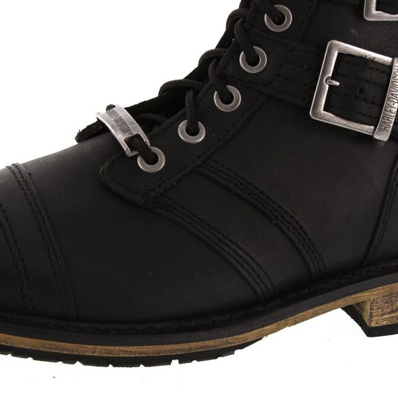 HARLEY DAVIDSON Men - Boots DREXEL D93387 - black - Thumb 6