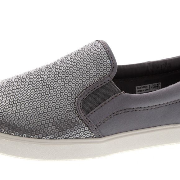 CROCS Damenschuhe - CITILANE SEQUIN SLIP ON - silver - Thumb 6