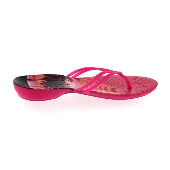 CROCS - ISABELLA GRAPHIC FLIP - candy pink tropical - Thumb 3