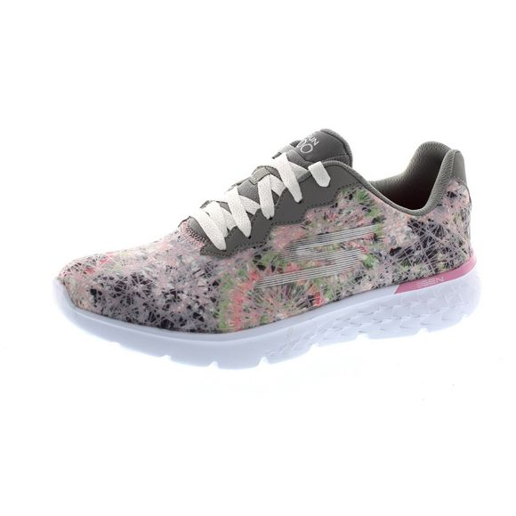 SKECHERS - GO RUN 400 VELOCITY 14353 - gray lt. pink - Thumb 1