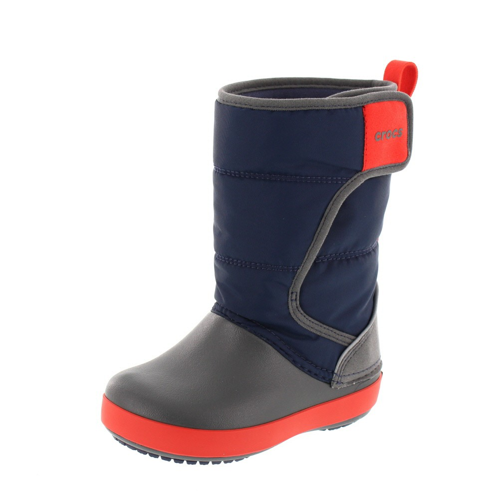CROCS Kinder - LODGEPOINT SNOW BOOT - navy slate grey
