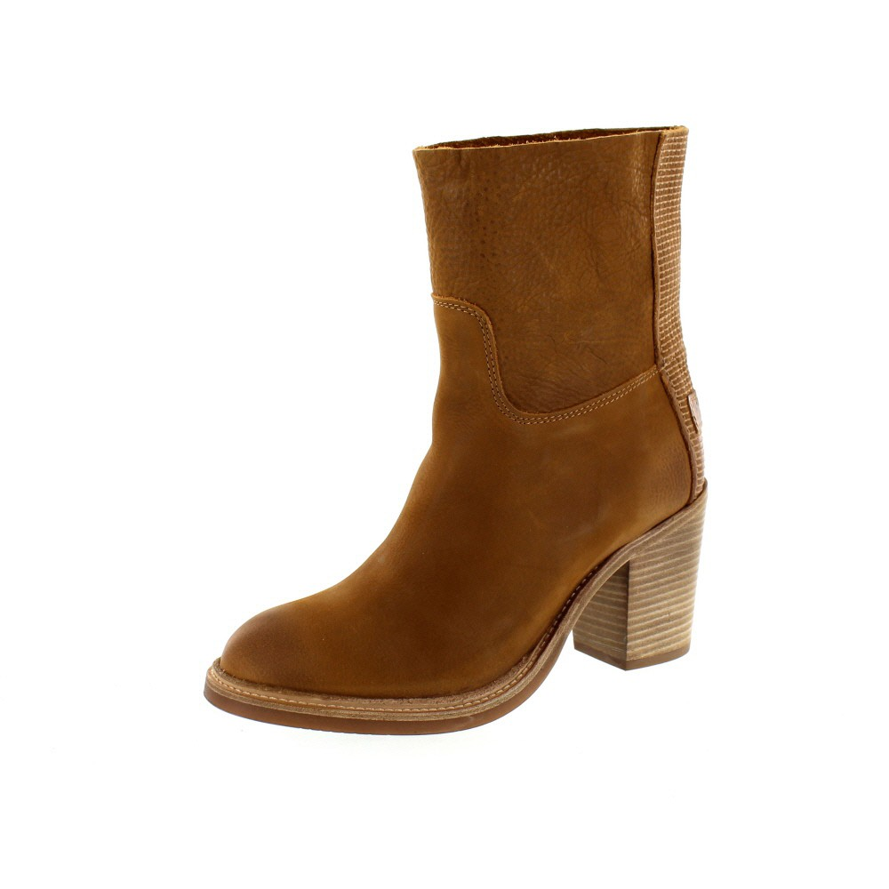 SHABBIES AMSTERDAM - Ankle Boot 183020013 - caramel