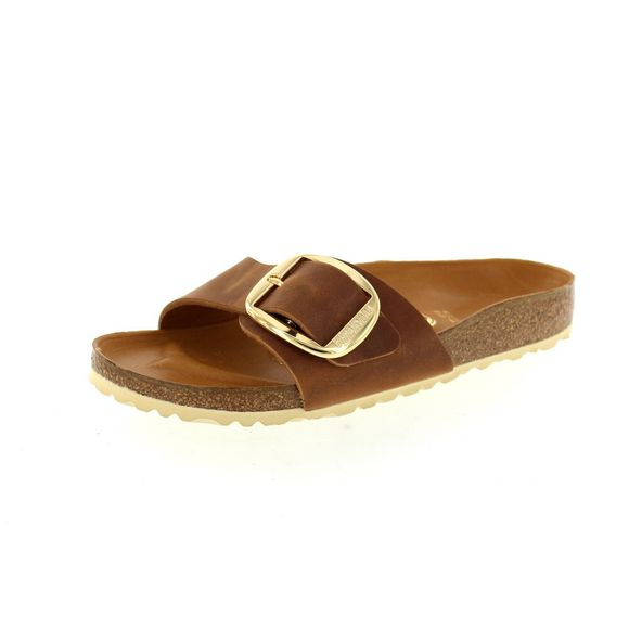BIRKENSTOCK Schuhe - MADRID BIG BUCKLE 1006525 - cognac - Thumb 1