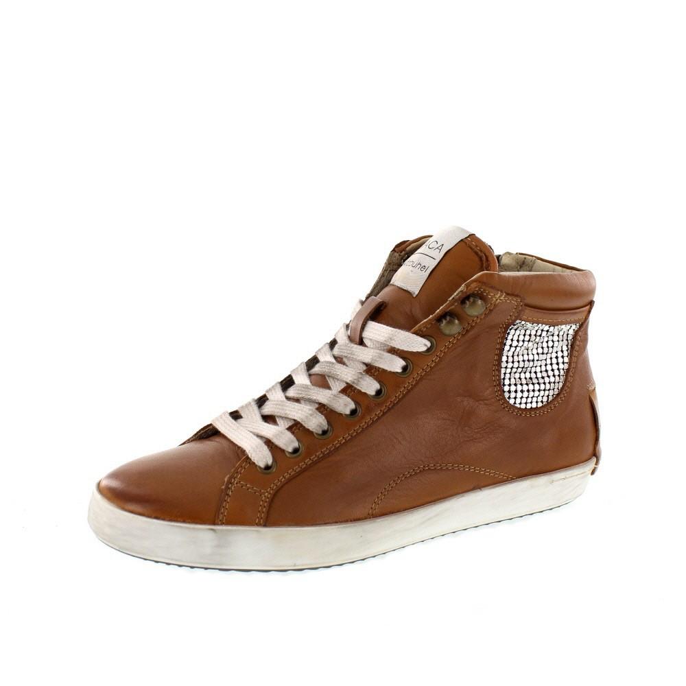 MACA Kitzbühel Damenschuhe - Sneaker 2110 - brandy