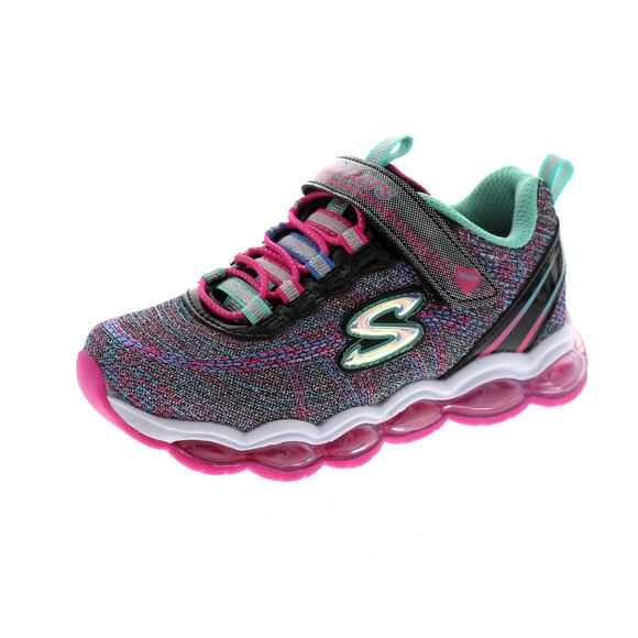 SKECHERS Kinder - GLIMMER LIGHTS 10833 L - black multi - Thumb 1