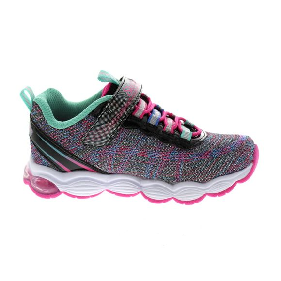 SKECHERS Kinder - GLIMMER LIGHTS 10833 L - black multi - Thumb 3