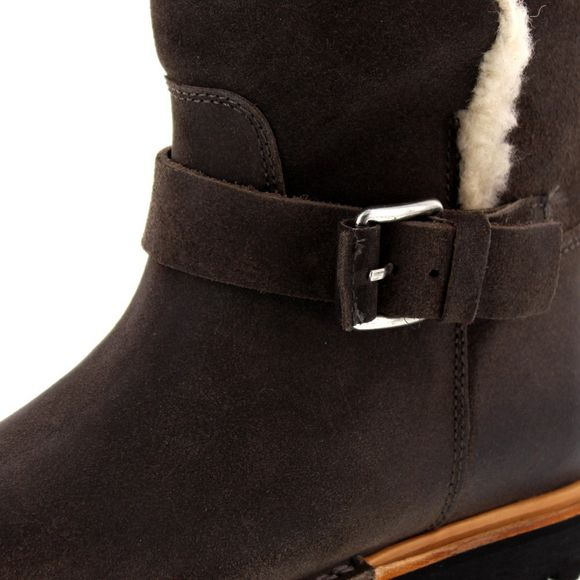 SHABBIES AMSTERDAM - Ankle Boot Low 181020061 - grey - Thumb 6