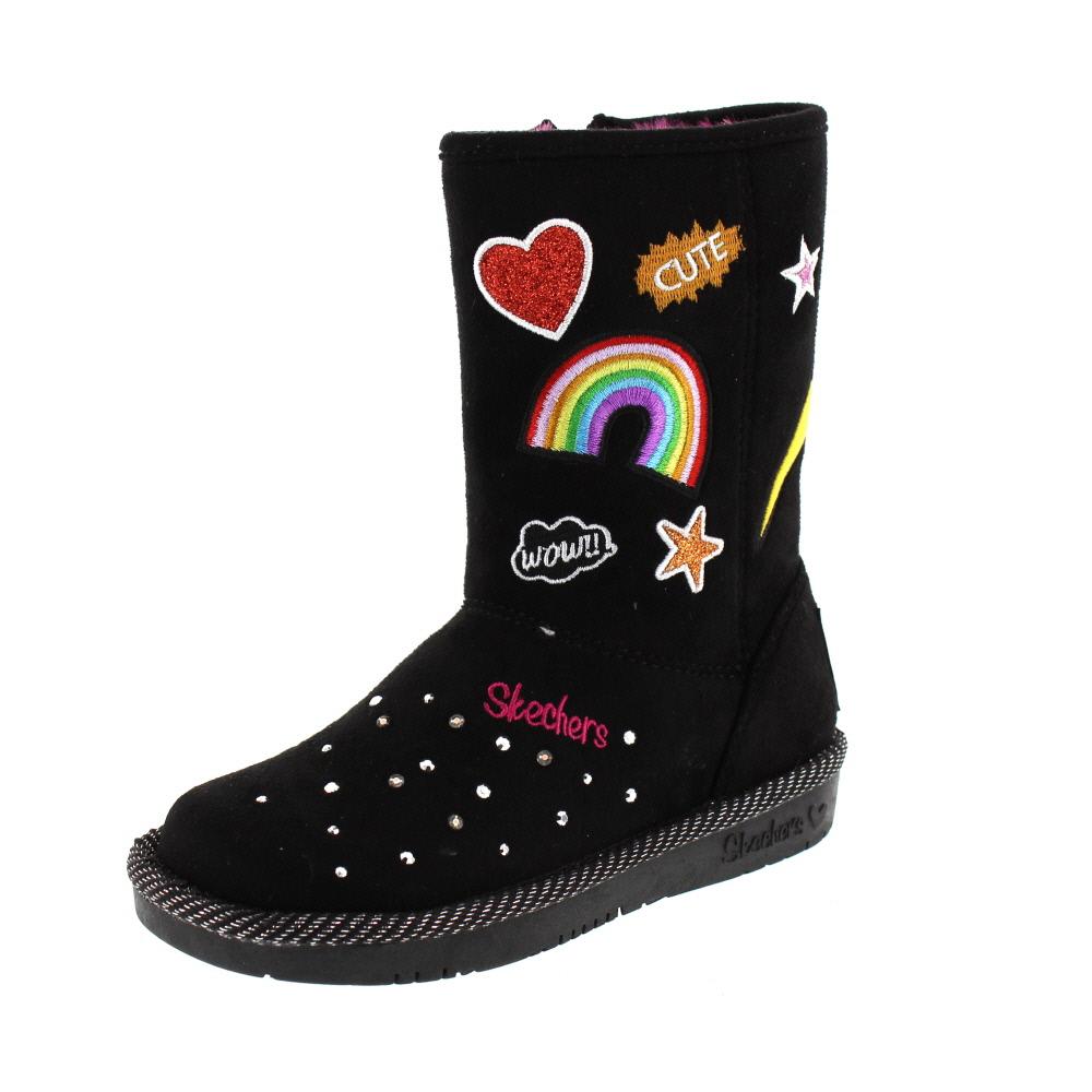 SKECHERS - S Lights PATCH´N UP 10817 L - black multi