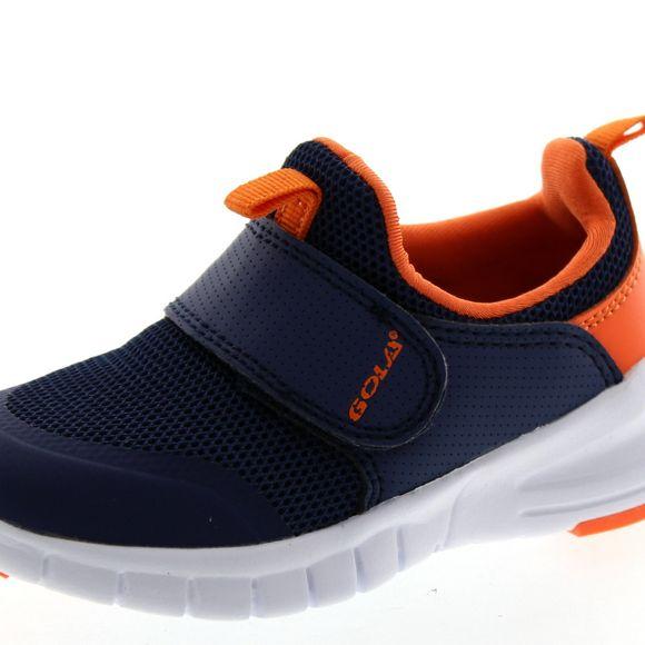 GOLA Active Kinder - LUPUS Klett AKA676 -  navy orange - Thumb 6