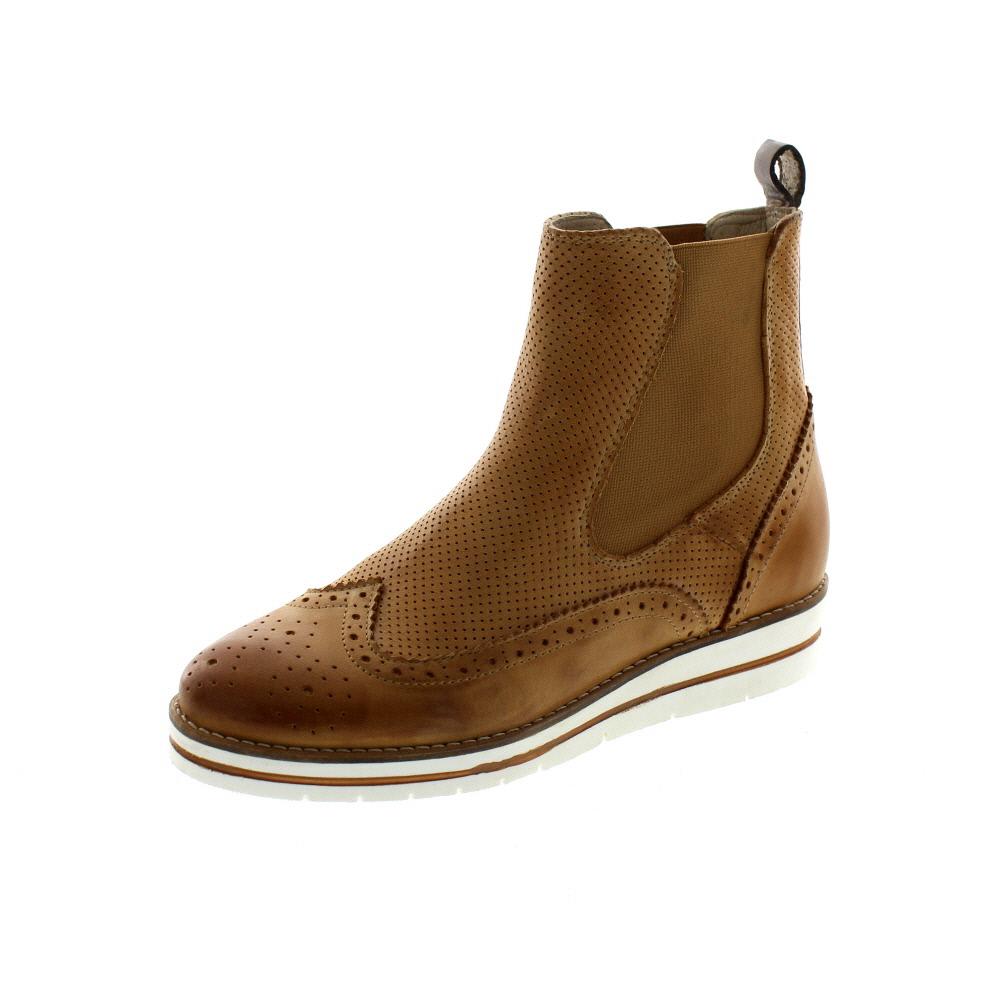 MACA Kitzbühel Damen - Chelsea-Boot 2223 - Brandy