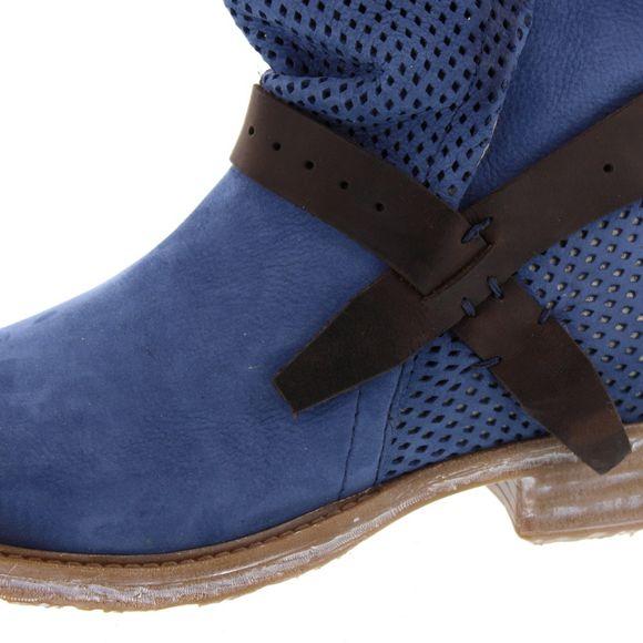 MACA Kitzbühel Damen - Stiefelette 2232 - blue - Thumb 6