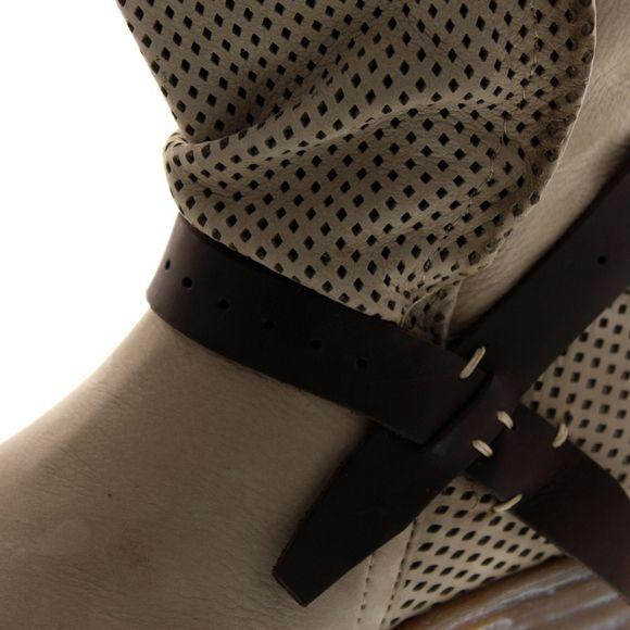MACA Kitzbühel Damen - Stiefelette 2232 - beige - Thumb 6