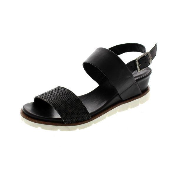 MACA Kitzbühel Damenschuhe - Sandalen 2216 - black - Thumb 1