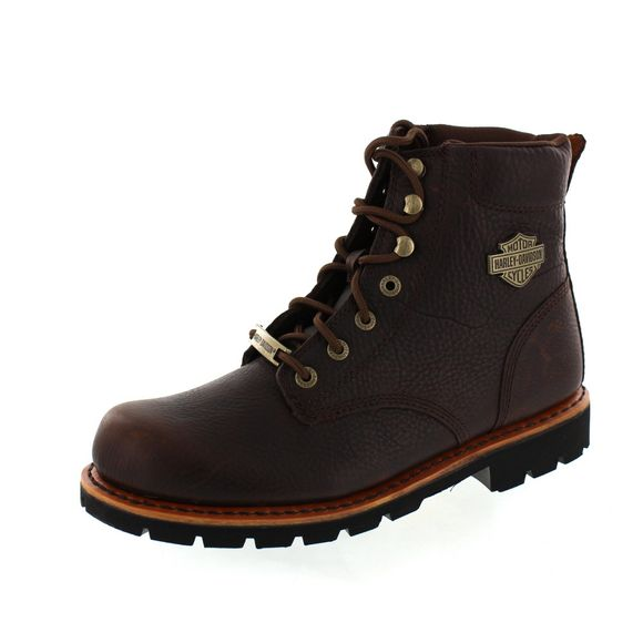 HARLEY DAVIDSON Men - Boot VISTA RIDGE - D93424 - brown