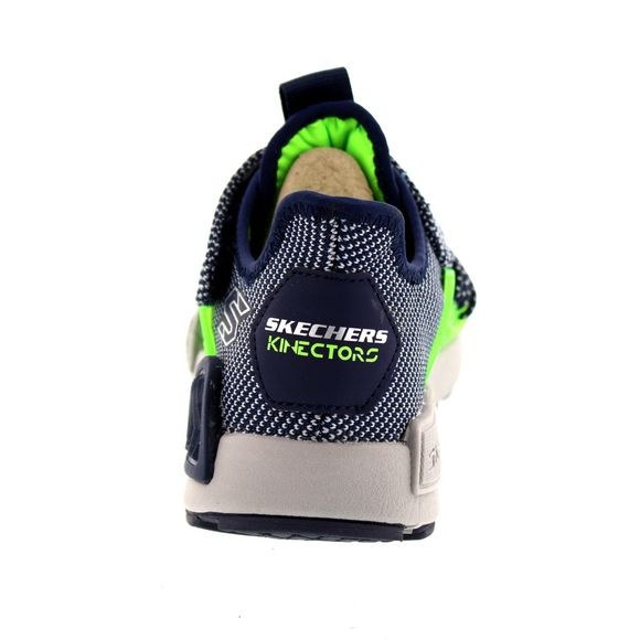 SKECHERS Kinder - Kinectors - THERMOVOLT - 97675L - navy white - Thumb 4