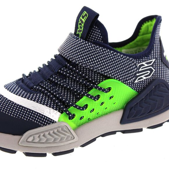 SKECHERS Kinder - Kinectors - THERMOVOLT - 97675L - navy white - Thumb 6