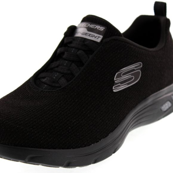 SKECHERS Damen - Empire D'Lux BURN BRIGHT 12822 - black - Thumb 6