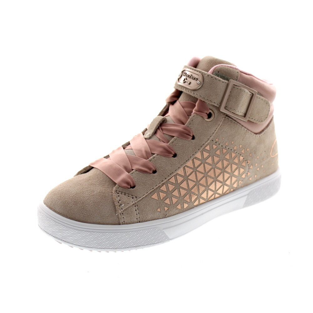 SKECHERS Kinder - Shoutouts 2.0 SUEDE CHIC - 84794L - natural