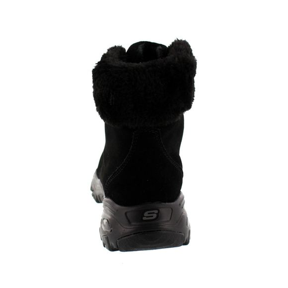 SKECHERS Damenschuhe - Winterstiefel D´LITES ALPS 48644 - black - Thumb 4