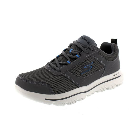 SKECHERS – GoWalk Evolution Ultra Enhance 54734 – charcoal blue - Thumb 1