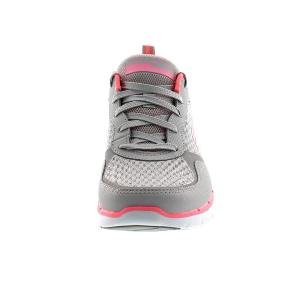 SKECHERS - Flex Appeal 3.0 GO FORWARD 13069 - lt. gray hot pink - Thumb 2