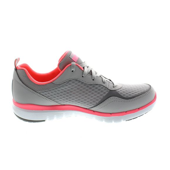 SKECHERS - Flex Appeal 3.0 GO FORWARD 13069 - lt. gray hot pink - Thumb 3