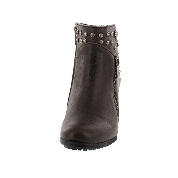 HARLEY DAVIDSON Women - Boots WEXFORD - D84116 - grey - Thumb 2