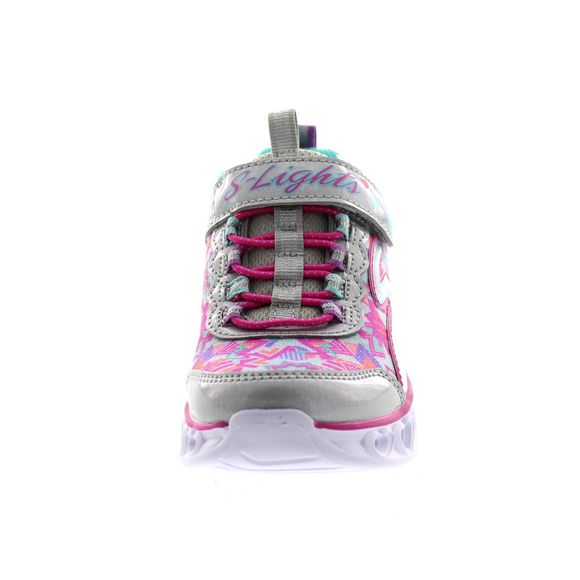 SKECHERS Kinder - S Lights HEART LIGHTS 20180 L - silver multi - Thumb 2