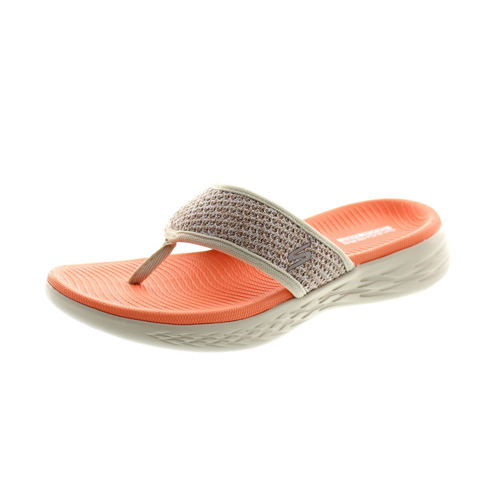 SKECHERS Damen - ON THE GO 600 GLOSSY - 16150 - taupe orange