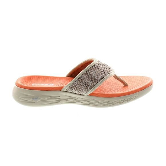 SKECHERS Damen - ON THE GO 600 GLOSSY - 16150 - taupe orange - Thumb 3